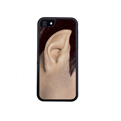Spock Ear iPhone 5 / 5s case By Little Brick Press (Hard Silicone Rubber Case)