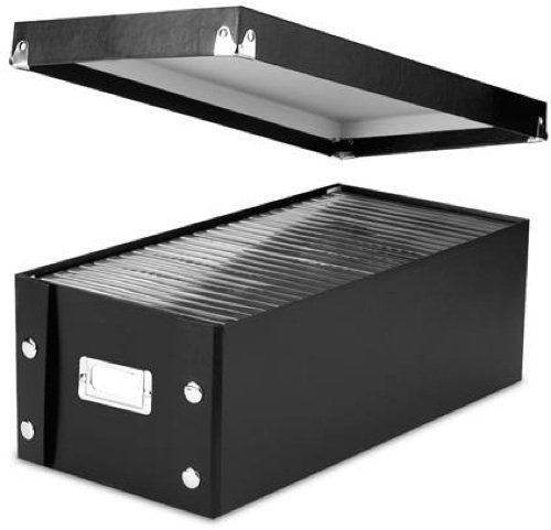 Snap-N-Store CD Storage Box 2-pk