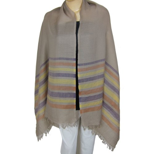 Wool Scarf Clothing Accessory India Styles 55.88 x 182.88 Cm