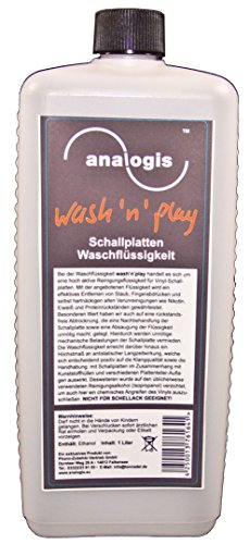Analogis Wash 'n' play-pulizia dischi flüssgkeit