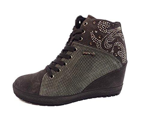 ENVAL SOFT donna sneakers alta 69982/00 37 Grigio
