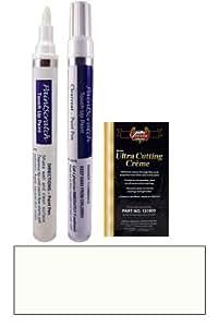 2011 Toyota Prius Super White 2 040 Touch Up Paint Pen Kit - Original Factory OEM Automotive Paint - Color Match Guaranteed