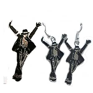 Fashion jewelry michael jackson brooch pin for Michael b jewelry death