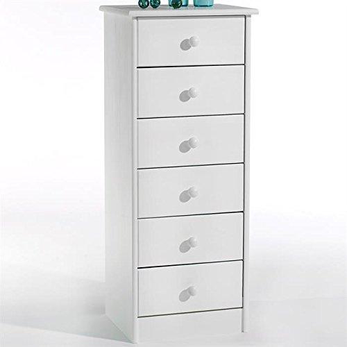 chiffonnier blanc les bons plans de micromonde. Black Bedroom Furniture Sets. Home Design Ideas