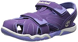 Timberland Adventure Seeker Closed Toe Dress Sandal (Little Kid),Purple,13 M US Little Kid