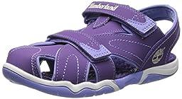 Timberland Adventure Seeker Closed Toe T Dress Sandal (Toddler/Little Kid),Purple,8 M US Toddler