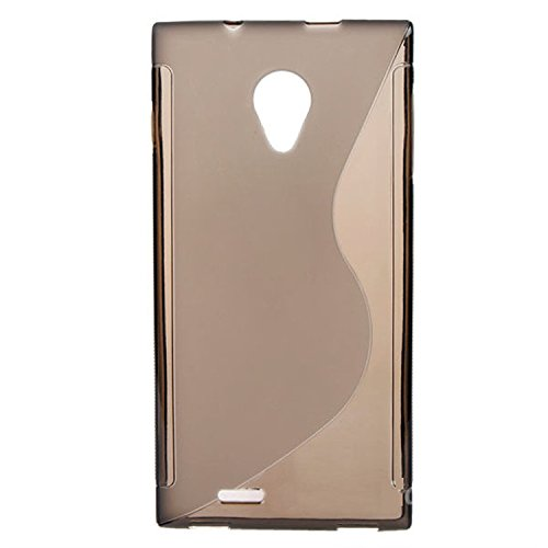 Easysmx New Arrival Silicon Case For Dg550 Anti-Knock Protective Back Case For Doogee Dagger Dg550 (Gray)