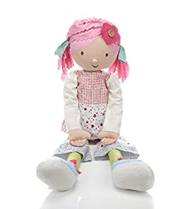 Emily Button Large Rag Doll
