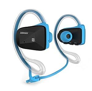 Mrzproline® Universal Hv800 Wireless Bluetooth Neckband Headset Stereo Ad2p Earphone Headphone for Cellphone Lg,iphone,samsung,htc (Blue)