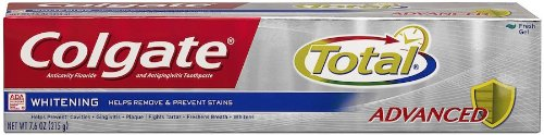 Colgate Total Advanced Whitening Gel Toothpaste, 7.60-Ounce front-572744