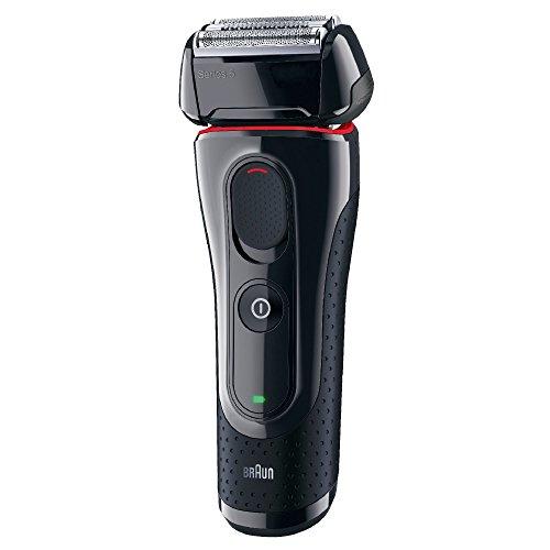 Braun Series 5 5030S Rasoio Elettrico a Lamina da Barba per Uomo, Impermeabile e Lavabile