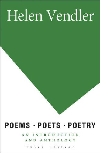 Poems, Poets, Poetry: An Introduction and Anthology