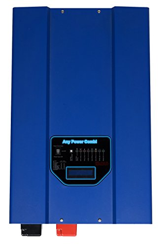 GTPOWER 4000W Peak 12000W Low Frequency SP Pure Sine Wave Inverter 55A Battery Charger Solar Converter DC 24V AC Output 110V/220V/230V/240V AC Priority Battery Priority Switch LCD New. (Coffee Grinder 230v compare prices)