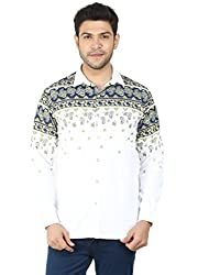 Pierrot's Super Fine Cotton Casual Shirts For Men