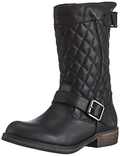 Skechers Women'S Accented Quilted,Black,Us 9 M