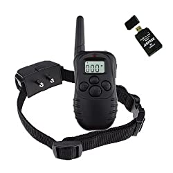 Remote Control Dog Electric Training Collar 100 level shock and vibration with LCD display Plus AGPtek USB 2.0 All-in-One Card Reader