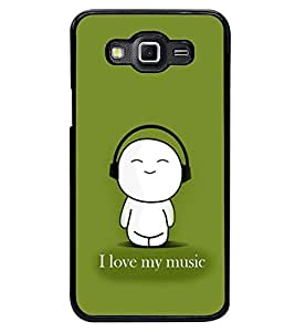 PRINTSWAG MUSIC QUOTE Designer Back Cover Case for SAMSUNG GALAXY GRAND 3