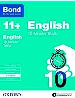 Bond 11+: English: 10 Minute Tests: 8-9  years