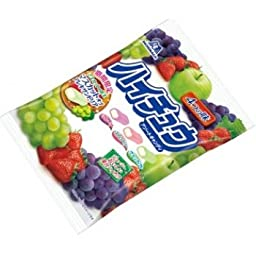 Authentic Japanese Morinaga Hi-Chew Assortment Bag 4 Fruit Flavors Grape Strawberry Green Apple Melon Made in Japan