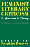 img - for Feminist Literary Criticism: Explorations in Theory (Greenwood Library Management) (1989-09-14) book / textbook / text book