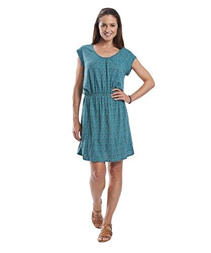 Woolrich Woolrich Women's Lakeside II Printed Knit Dress, Blue Fir Geo, Medium B00LTCGT1C