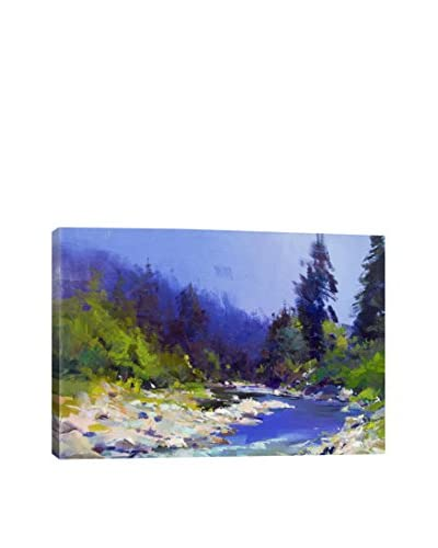 Yuri Pysar Lake In The Woods Gallery-Wrapped Canvas Print