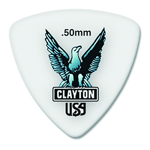 Clayton RT50 0.50mm Acetal Guitar Picks, 72-Pack (Clayton Usa compare prices)