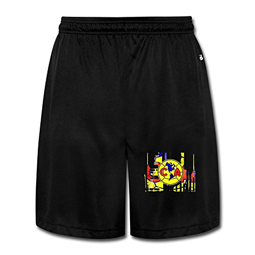 Club CA Logo America Cotton Youth Boys Short Cool Sweatpants (Club America Sweats compare prices)