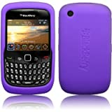 BLACKBERRY 8520 CURVE PURPLE SKIN CASE BY CELLAPOD MOBILE PHONE CASES phones