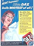 Moonlizard Daz Washing Powder Vintage Poster 8