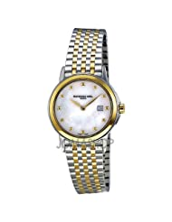 Raymond Weil Tradition Mother of Pearl Dial Stainless Steel Ladies Watch 5966-STP-97002