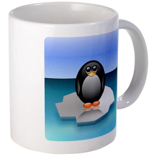 Mug (Coffee Drink Cup) Cute Baby Penguin