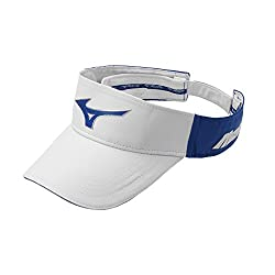Mizuno Men's Mizuno Sonic Visor, Adjustable, White