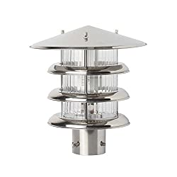 SuperScape Outdoor Lighting Gate Pillar Post Lighting GL4722-S