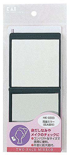 貝印 両面ミラー 拡大鏡付 HKー0503