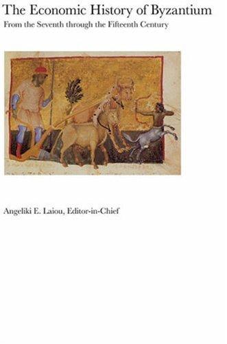 The Economic History of Byzantium (3 Vol. Set)
