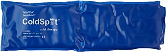"""Relief Pak 11-1005 Throat Cold Pack, 11"""" Length x 3"""" Width"""