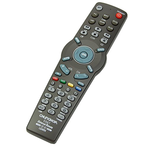 CHUNGHOP Black Learning Remote Control Controller For TV CBL DVD AUX SAT AUD (Tv And Appliance compare prices)