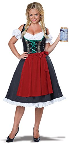 California Costumes womens Womens Oktoberfest Fraulein Costume