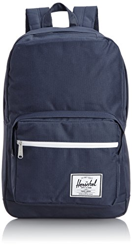 [ハーシェルサプライ] Herschel Supply Pop Quiz 10011-00534-OS Navy/Navy PU (Navy/Navy PU)