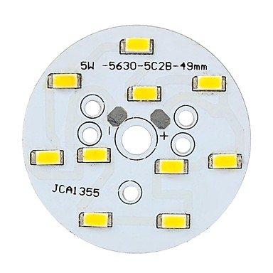Rayshop - C123456 5W 550Lm 3500K 10-Smd 5630 Led Warm Light Led Lamp Module - (10-12V)