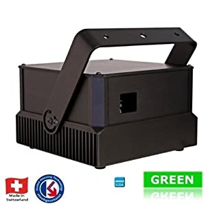 Laserworld Laser PL-11000G compact ILDA 11 Watt green