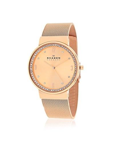 Skagen Women's SKW2130 Classic Rose Gold Tone Stainless Steel Watch