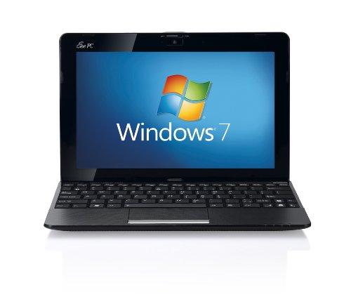 Asus Eee PC 1015P 10.1 inch netbook (Intel Atom N450 1.66GHz, 1GB RAM, 160GB HDD, WLAN, Webcam, Up to 11hrs battery life, Windows 7 Starter) - Black
