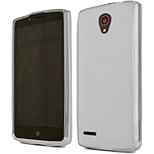 HR Wireless Carrying Case for Alcatel OneTouch Conquest - Retail Packaging - Clear