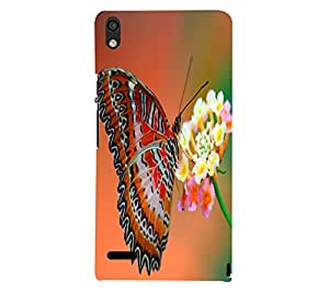 Printed back cover for Huawei Ascend P6