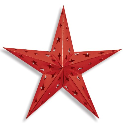 Beistle Dimensional Foil Star, 24-Inch