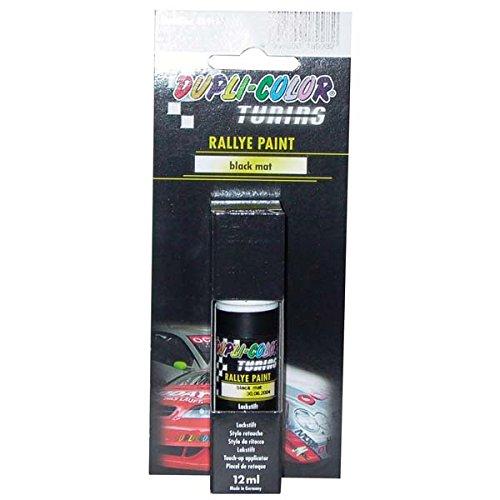 Duplicolor 189982 tuning stylo de retouche peinture rallye paint noir mat 1 - Retouche peinture mur ...