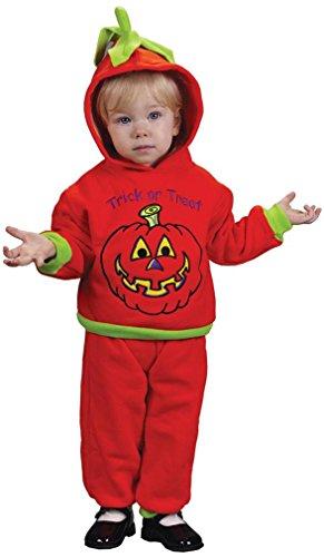 Infant Soft N ' Comfy Pumpkin Costume