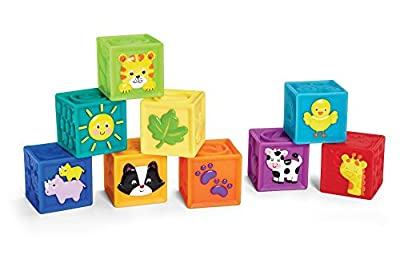 Earlyears Squeak 'n Stack Blocks Baby Toy by International Playthings that we recomend individually.